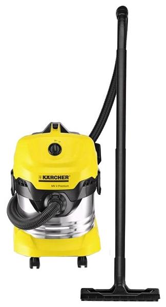 Пылесос KarcherПылесосы промышленные<br>Мощность: 1000, Тип: пылесос, Бак: 20, Размеры: 384x365x526, Страна происхождения: Румыния, Розетка для электроинструмента: нет, Диаметр всасывающего шланга: 35 мм<br>