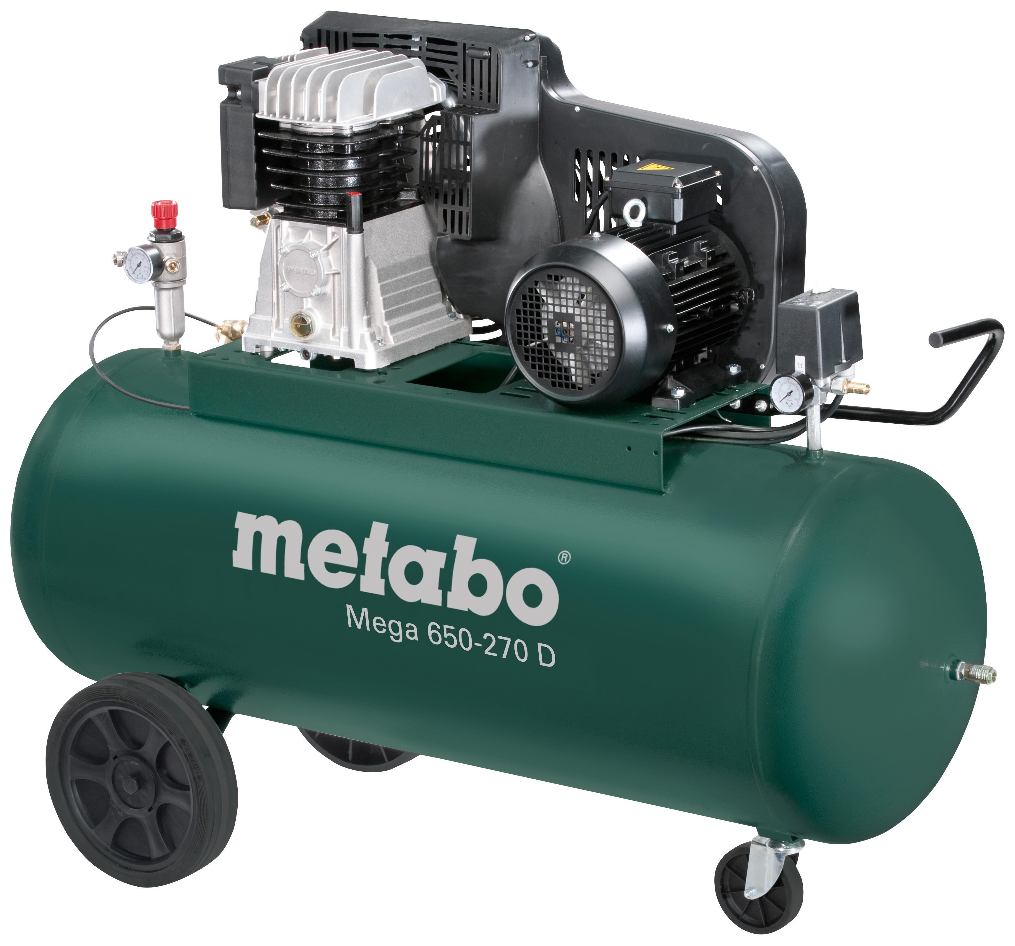 Компрессор поршневой Metabo Mega 650-270 d