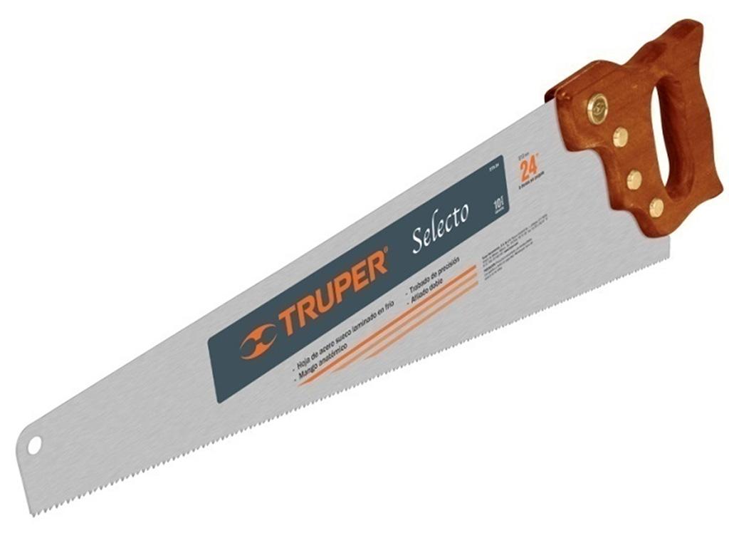 Ножовка по дереву TruperНожовки ручные<br>Длина (мм): 600,<br>Назначение: дерево,<br>Тип ножовки: ножовка<br>