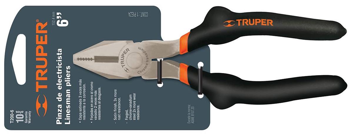 Плоскогубцы диэлектрические Truper T200-8 17308