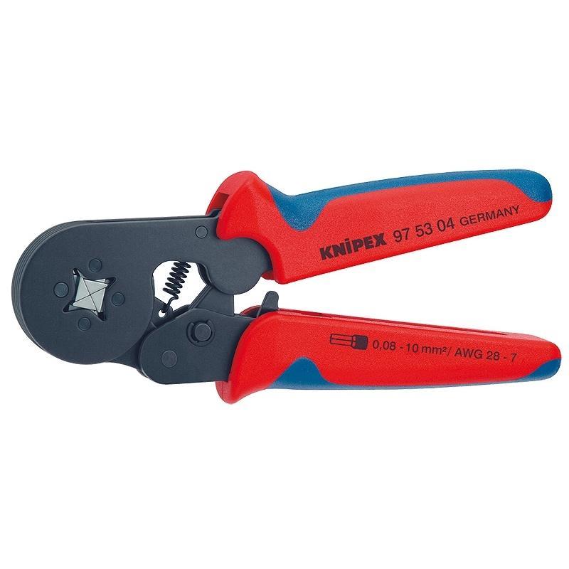 Пресс-клещи для обжима наконечников Knipex - KnipexКлещи<br>Тип: пресс-клещи<br>