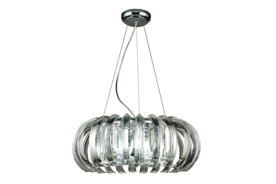 Люстра LamplandiaЛюстры<br>Назначение светильника: для комнаты,<br>Стиль светильника: модерн,<br>Тип: подвесная,<br>Материал светильника: металл, пластик,<br>Материал плафона: пластик,<br>Материал арматуры: металл,<br>Длина (мм): 480,<br>Ширина: 480,<br>Высота: 1240,<br>Количество ламп: 3,<br>Тип лампы: накаливания,<br>Мощность: 60,<br>Патрон: Е14,<br>Цвет арматуры: хром<br>