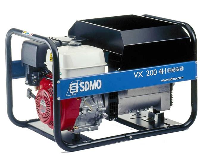 ���������� ��������� ��������� Sdmo Vx 200/4 hs