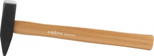 Молоток слесарный OmbraМолотки ручные<br>Тип молотка: слесарный, Форма бойка: квадрат, Материал рукоятки: древесина, Вес нетто: 0.5<br>