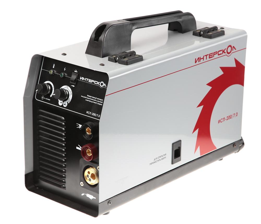 Сварочный аппарат ИНТЕРСКОЛСварочные аппараты<br>Макс. сварочный ток: 180, Мощность: 7000, Мощность полная: 7000, Напряжение: 220, Мин. входное напряжение: 160, Макс. диаметр электрода: 5, Мин. диаметр проволоки: 0.6, Макс. диаметр проволоки: 1.2, Тип сварочного аппарата: инверторный, Тип сварки: полуавтоматическая (MIG/MAG), Инверторная технология: есть, Вес нетто: 12.7<br>
