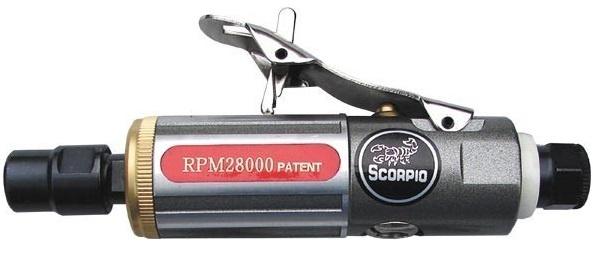 Машинка шлифовальная прямая пневматическая Scorpio