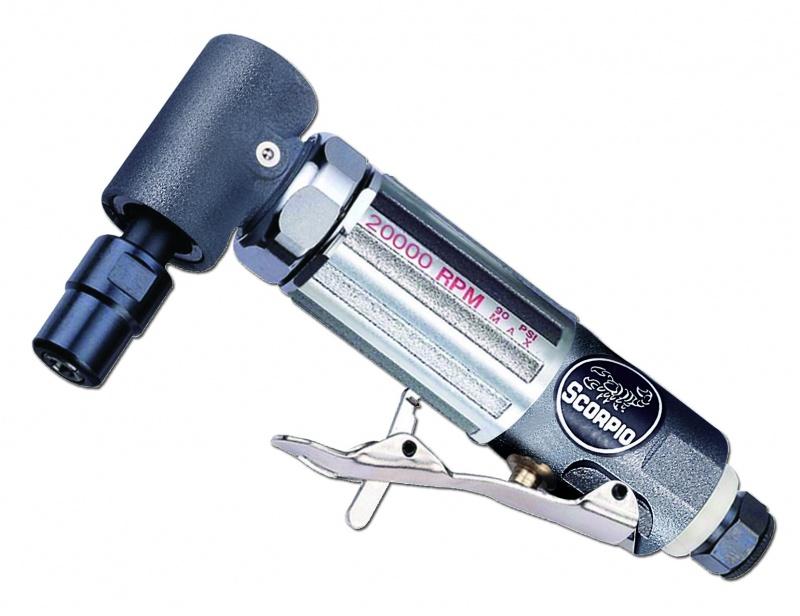 Машина углошлифовальная пневматическая Scorpio от 220 Вольт