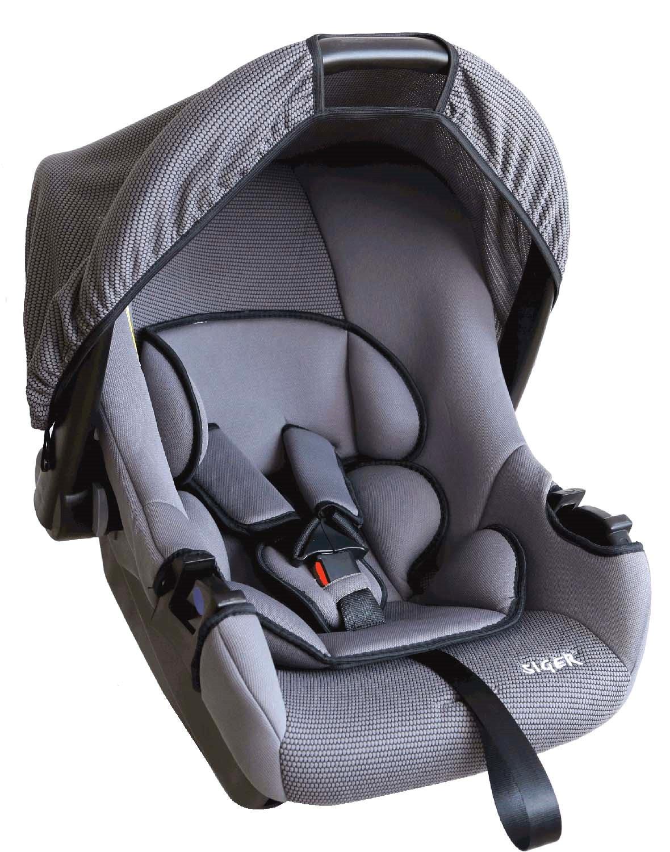 Детское автомобильное кресло SigerДетские автокресла<br>Группа: 0+ (до 13 кг),<br>Внутренние ремни: есть,<br>Способ установки: спиной вперед,<br>Регулировка внутренних ремней: есть<br>