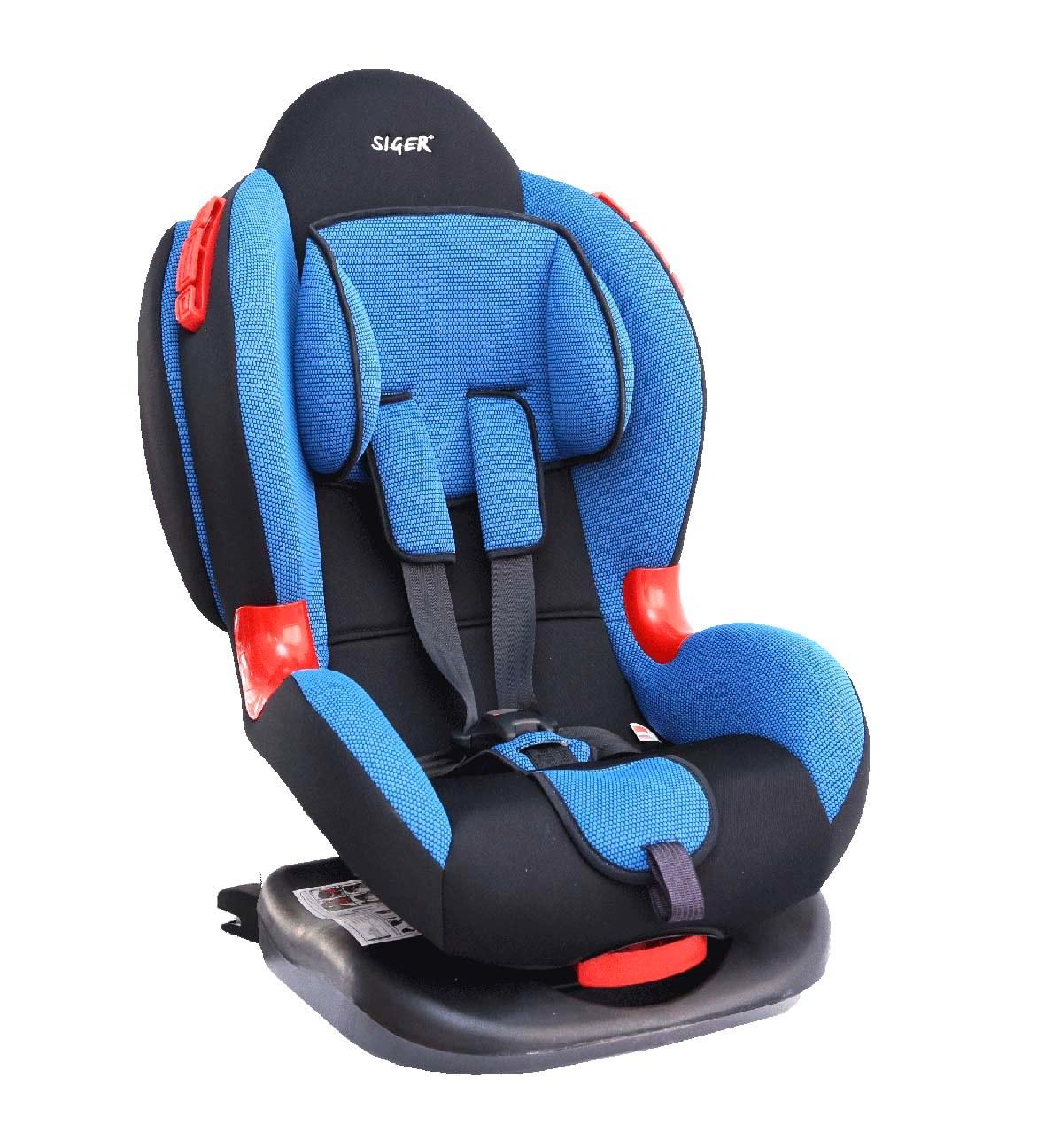 Детское автомобильное кресло SigerДетские автокресла<br>Группа: 1/2 (9-25 кг),<br>Крепление Isofix: есть,<br>Внутренние ремни: есть,<br>Способ установки: лицом вперед,<br>Регулировка наклона спинки: есть<br>