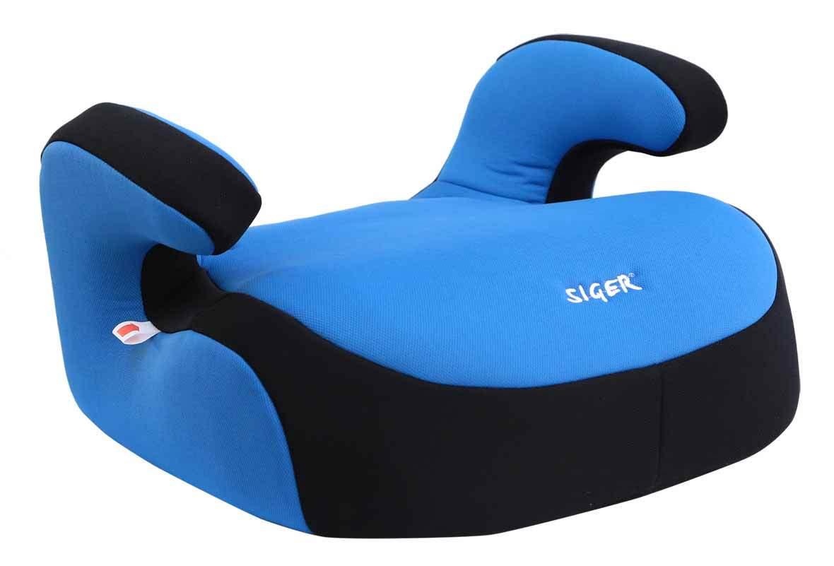 Детское автомобильное кресло SigerДетские автокресла<br>Группа: 3 (22 -36 кг),<br>Бустер: есть,<br>Способ установки: лицом вперед<br>