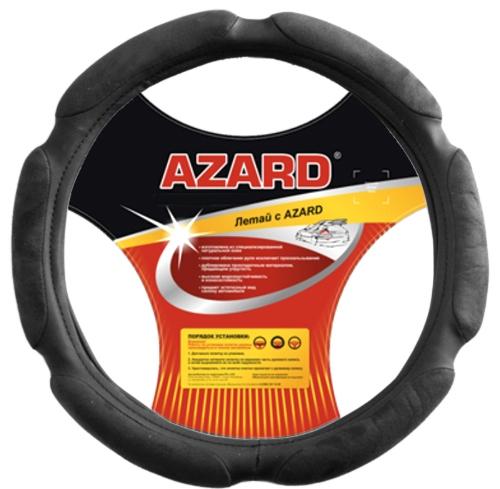 Оплетка AzardОплетки на руль<br>Размер руля: XL (42см), Материал оплетки: спонж<br>