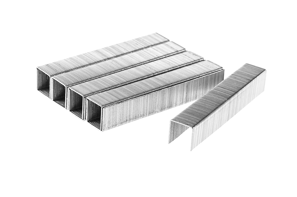 Скобы закален. 12мм, сечение 0,75мм, длина 11,3мм (тип 53), Скобы для степлера