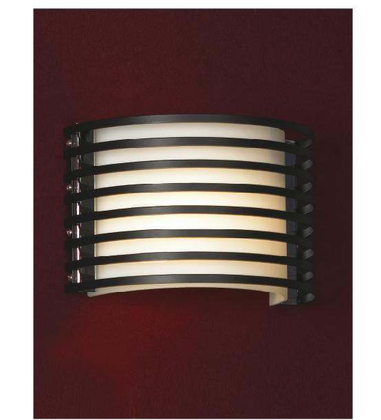 Бра LussoleНастенные светильники и бра<br>Тип: настенный,<br>Назначение светильника: для комнаты,<br>Стиль светильника: модерн,<br>Материал светильника: металл, стекло,<br>Тип лампы: накаливания,<br>Количество ламп: 1,<br>Мощность: 40,<br>Патрон: Е14,<br>Цвет арматуры: хром,<br>Ширина: 250<br>