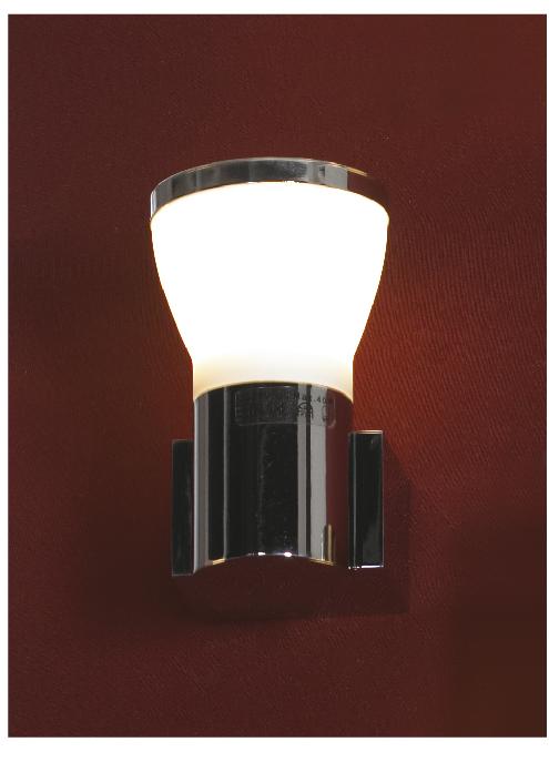 Бра LussoleНастенные светильники и бра<br>Тип: настенный,<br>Назначение светильника: для комнаты,<br>Стиль светильника: модерн,<br>Материал светильника: металл, стекло,<br>Тип лампы: галогенная,<br>Количество ламп: 1,<br>Мощность: 40,<br>Патрон: G9,<br>Цвет арматуры: хром,<br>Ширина: 60<br>