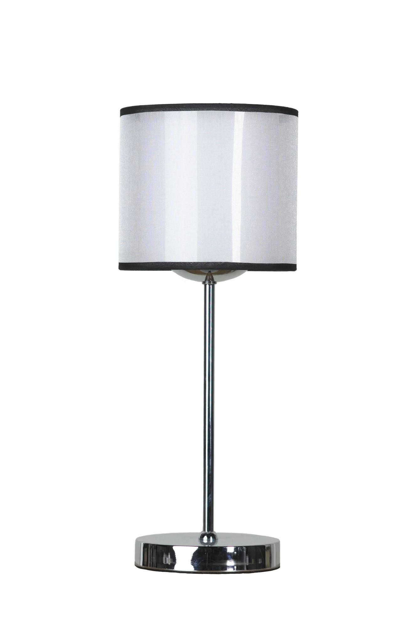 Лампа настольная LussoleЛампы настольные<br>Тип настольной лампы: декоративная,<br>Назначение светильника: для комнаты,<br>Стиль светильника: модерн,<br>Материал светильника: металл, стекло,<br>Ширина: 180,<br>Количество ламп: 1,<br>Тип лампы: накаливания,<br>Мощность: 60,<br>Патрон: Е27,<br>Цвет арматуры: хром<br>