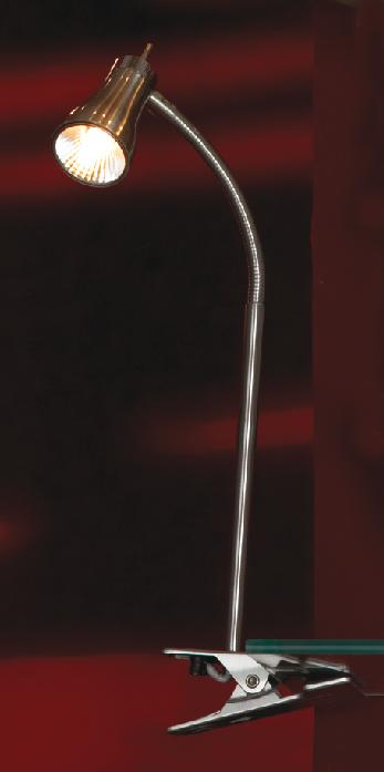 Лампа настольная LussoleЛампы настольные<br>Тип настольной лампы: декоративная,<br>Назначение светильника: для комнаты,<br>Стиль светильника: модерн,<br>Материал светильника: металл, стекло,<br>Ширина: 190,<br>Количество ламп: 1,<br>Тип лампы: галогенная,<br>Мощность: 40,<br>Патрон: G9,<br>Цвет арматуры: никель<br>