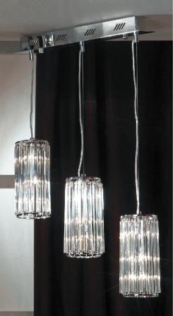Люстра LussoleЛюстры<br>Назначение светильника: для гостиной,<br>Стиль светильника: модерн,<br>Тип: потолочная,<br>Материал светильника: металл, стекло,<br>Материал плафона: стекло,<br>Материал арматуры: металл,<br>Длина (мм): 1400,<br>Ширина: 600,<br>Количество ламп: 9,<br>Тип лампы: галогенная,<br>Мощность: 20,<br>Патрон: G4,<br>Цвет арматуры: хром<br>