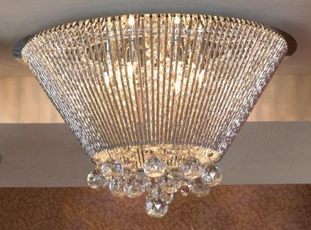 Люстра LussoleЛюстры<br>Назначение светильника: для гостиной,<br>Стиль светильника: модерн,<br>Тип: потолочная,<br>Материал светильника: металл, стекло,<br>Материал арматуры: металл,<br>Длина (мм): 340,<br>Ширина: 530,<br>Количество ламп: 12,<br>Тип лампы: галогенная,<br>Мощность: 40,<br>Патрон: G9,<br>Цвет арматуры: хром<br>