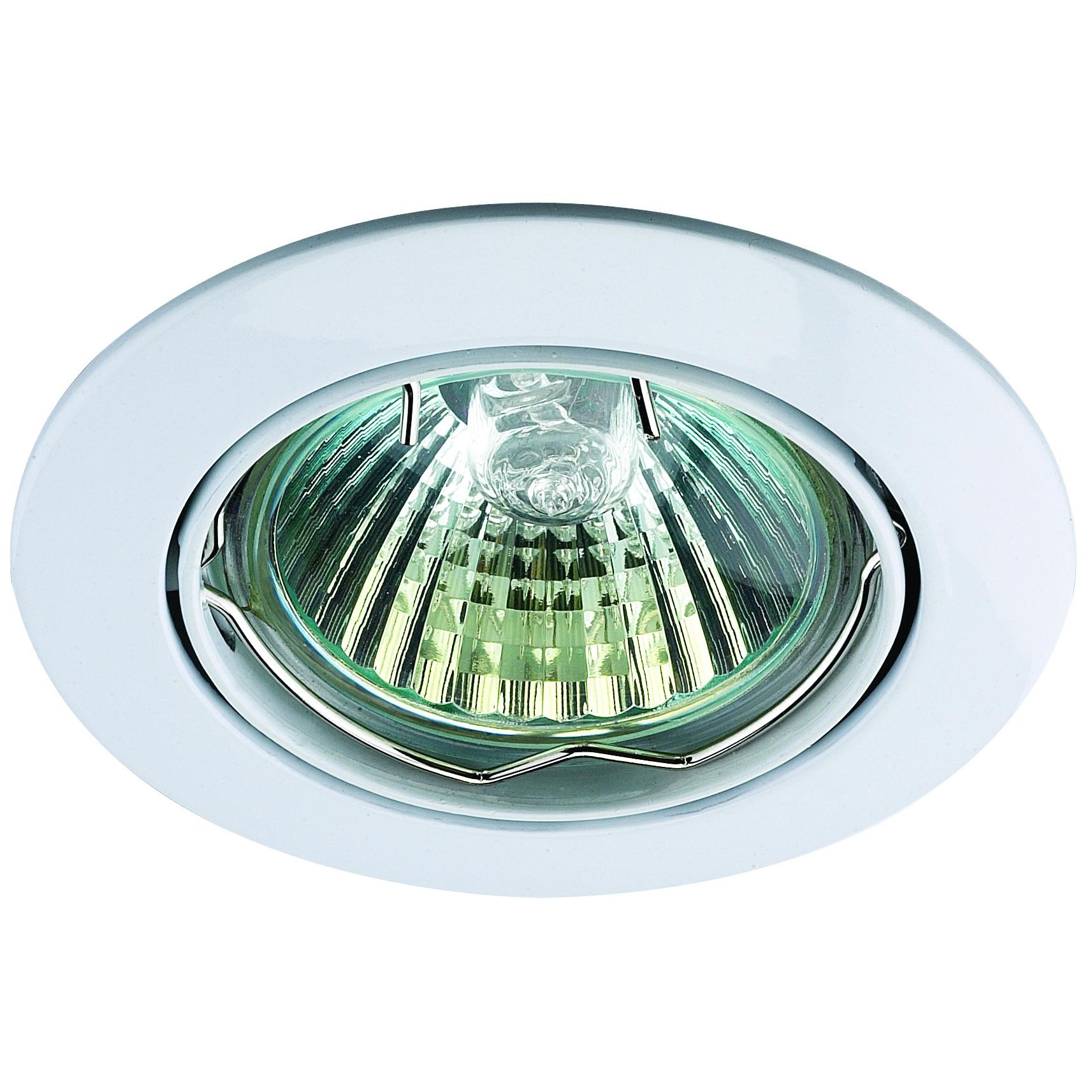 Светильник встраиваемый NovotechСветильники встраиваемые<br>Стиль светильника: модерн,<br>Диаметр: 82,<br>Форма светильника: круг,<br>Материал светильника: металл,<br>Количество ламп: 1,<br>Тип лампы: галогенная,<br>Мощность: 50,<br>Патрон: GX5.3,<br>Цвет арматуры: белый,<br>Назначение светильника: для комнаты<br>