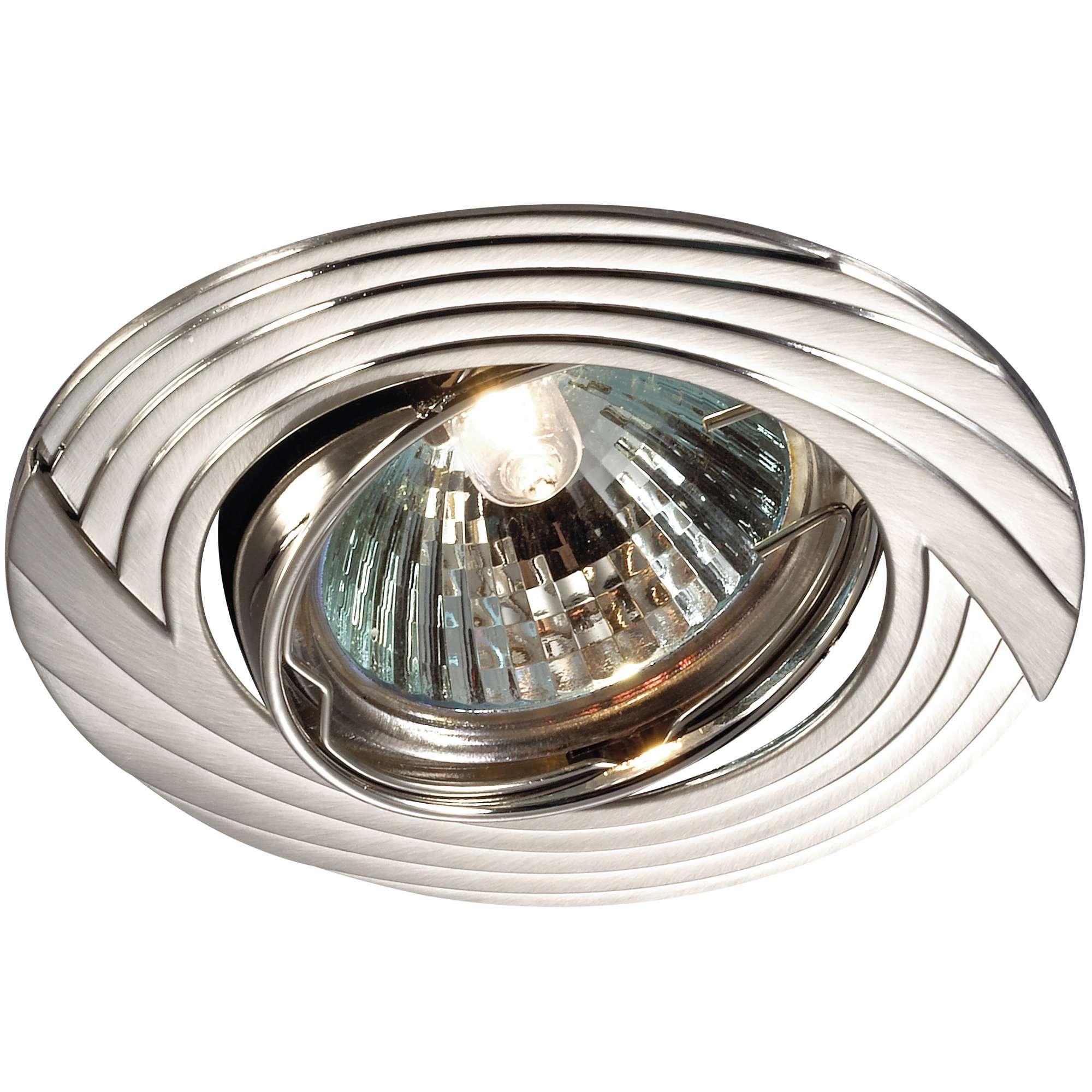 Светильник встраиваемый NovotechСветильники встраиваемые<br>Стиль светильника: модерн,<br>Диаметр: 82,<br>Форма светильника: круг,<br>Материал светильника: металл,<br>Количество ламп: 1,<br>Тип лампы: галогенная,<br>Мощность: 50,<br>Патрон: GX5.3,<br>Цвет арматуры: никель,<br>Назначение светильника: для комнаты<br>