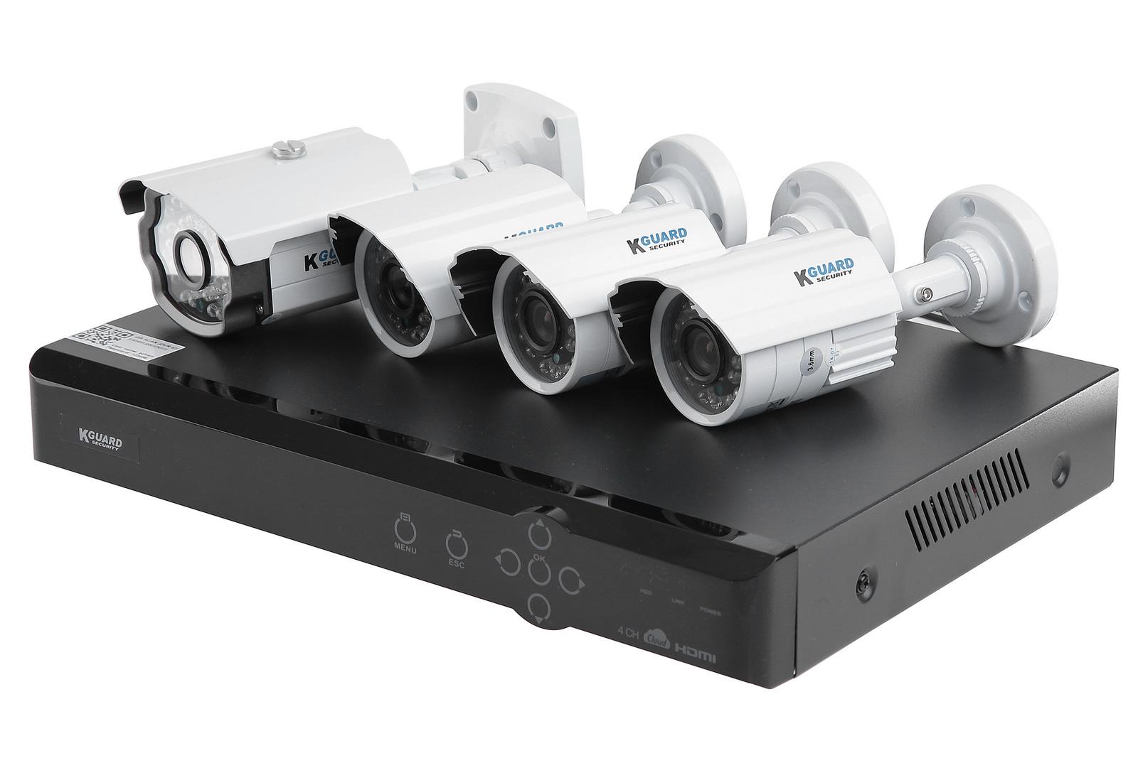 Комплект видеонаблюдения Kguard