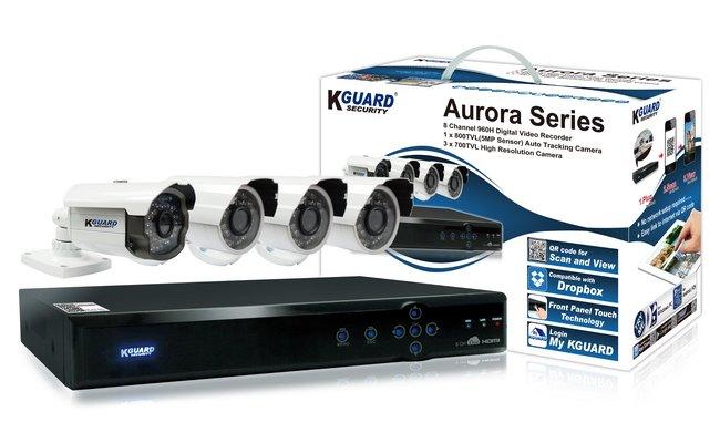 Комплект видеонаблюдения Kguard от 220 Вольт