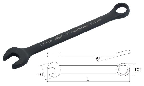Ключ гаечный комбинированный AistКлючи гаечные<br>Тип: комбинированный,<br>Размер ключа минимальный: 14,<br>Размер ключа максимальный: 14<br>