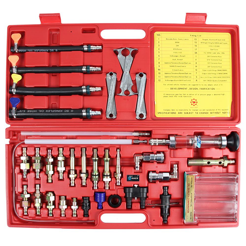 Набор AistИнструмент для ремонта двигателя<br>Тип: адаптер,<br>Назначение инструмента: для промывки,<br>Набор: есть<br>