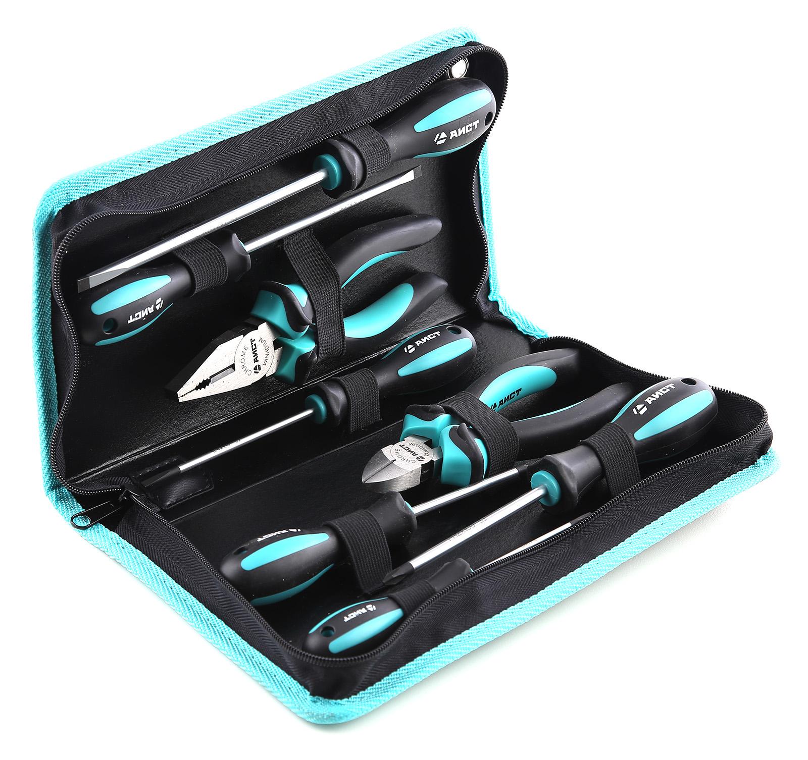 Набор шарнирно-губцевых инструментов, 8 предметов Aist
