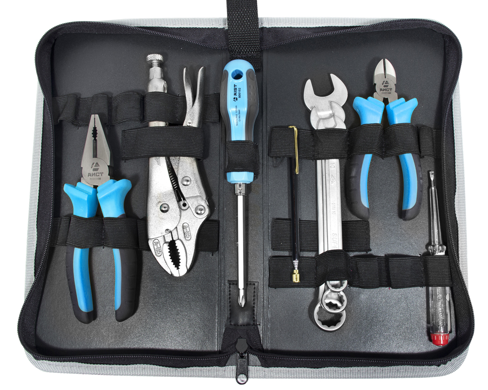 Набор инструментов в пенале, 9 предметов Aist