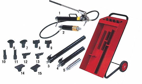 Набор AistОборудование для кузовного ремонта<br>Тип: набор<br>