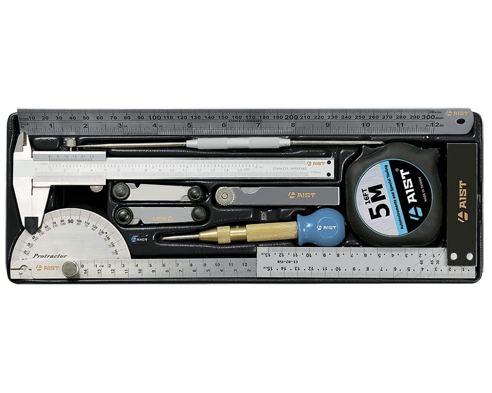 Набор измерительных инструментов, 10 предметов Aist