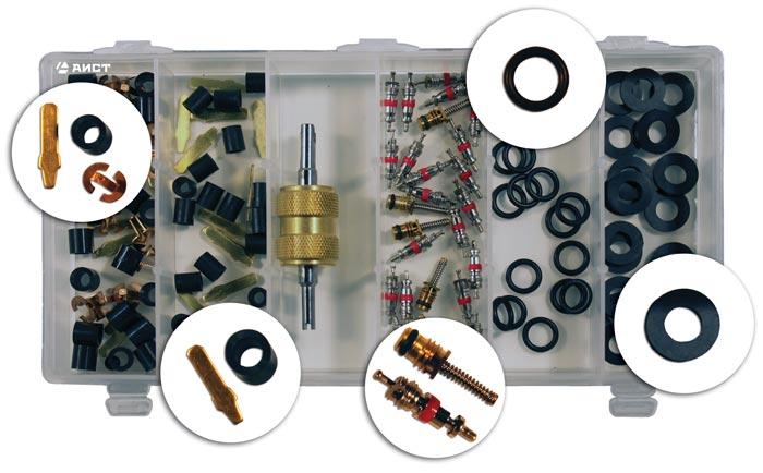 Набор AistАвтомобильные системы кондиционирования<br>Тип: набор ремкомплектов<br>