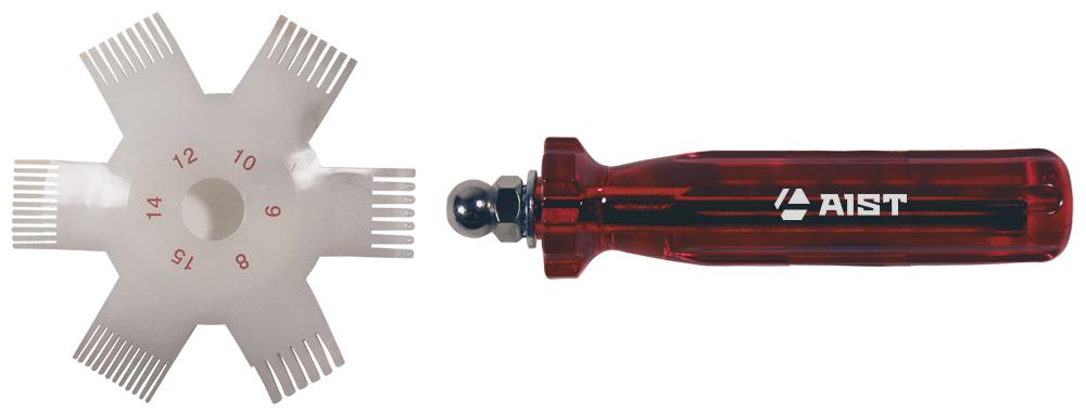 Приспособление для правки радиатора Aist
