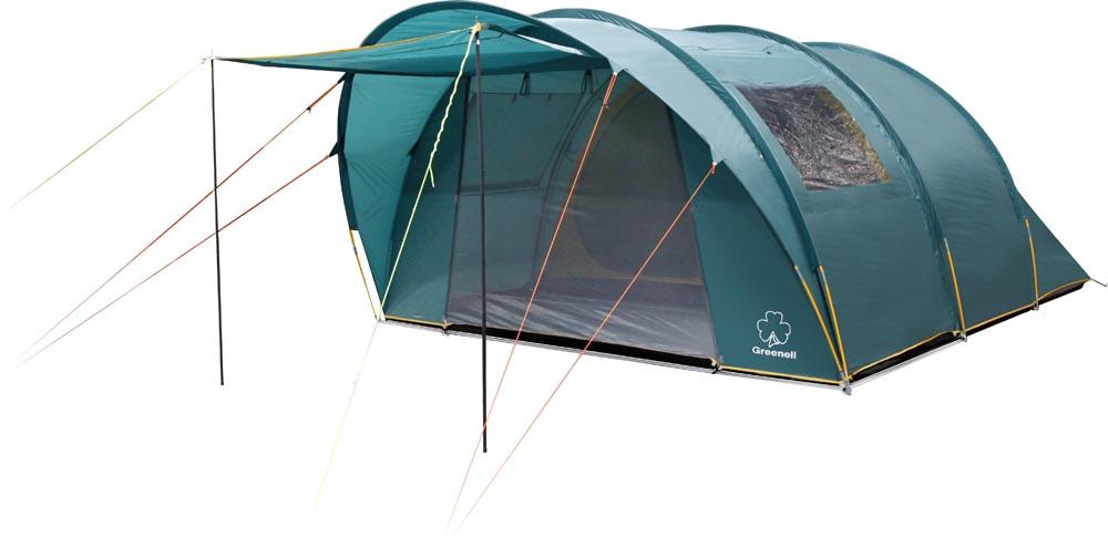 Палатка GreenellПалатки<br>Тип палатки: кемпинговый,<br>Назначение палатки: кухня,<br>Количество мест: 5,<br>Количество комнат: 1,<br>Количество входов: 1,<br>Форма палатки: купол,<br>Сезон: лето,<br>Размеры: 5200х3550х2000,<br>Длина (мм): 5200,<br>Ширина: 3550,<br>Высота: 2000,<br>Тамбур: есть,<br>Количество слоев тента: 1,<br>Москитная сетка: есть,<br>Родина бренда: Ирландия,<br>Дно палатки: есть,<br>Материал: полиэстер,<br>Цвет: зеленый,<br>Вес нетто: 14.8<br>