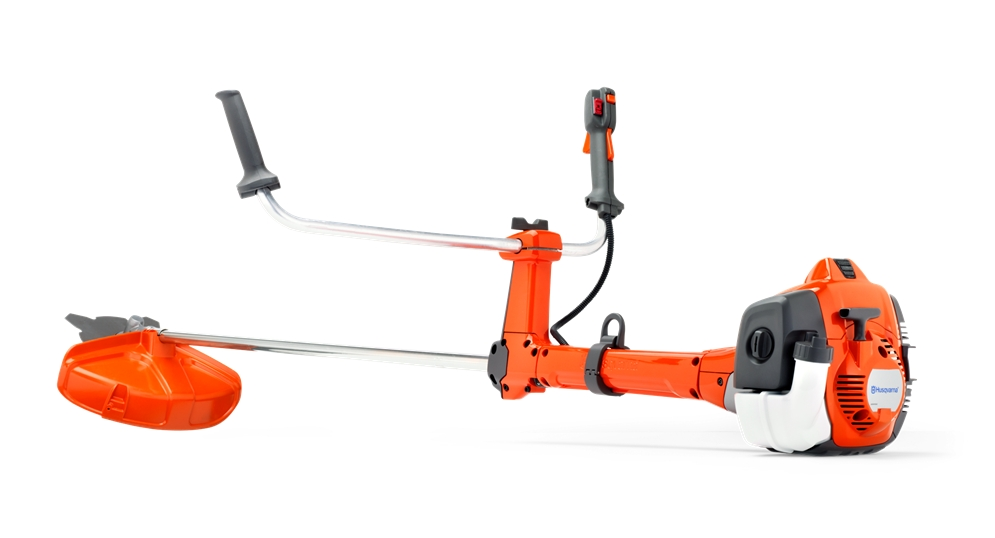 Мотокоса HusqvarnaМотокосы (бензотриммеры)<br>Мощность (лс): 1.3,<br>Двигатель: 2-х тактный,<br>Рабочий объем: 25.4,<br>Бак: 0.51,<br>Штанга: прямая,<br>Форма ручки: T-образная,<br>Тип режущего инструмента: леска/нож<br>