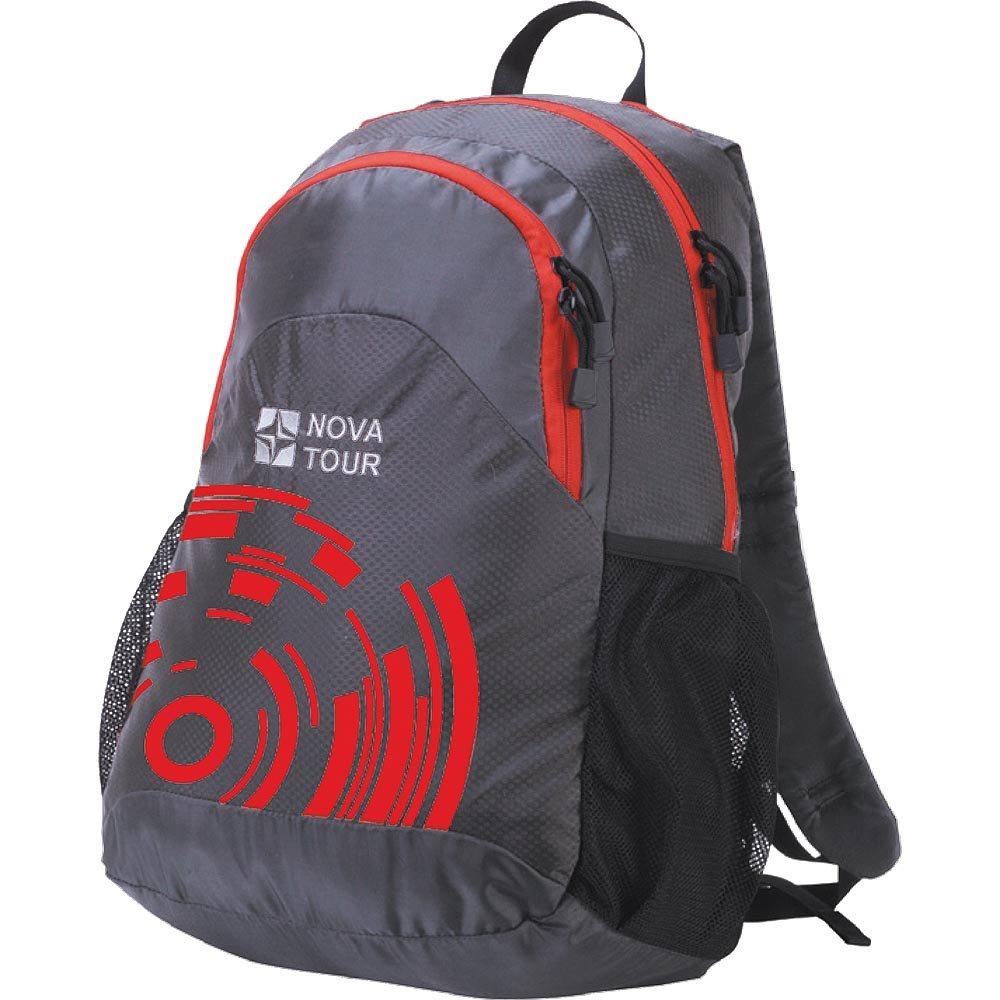 Рюкзак Nova tourРюкзаки<br>Назначение рюкзака: городской,<br>Тип: рюкзак,<br>Объем: 30,<br>Материал: полиэстер,<br>Цвет: серый<br>