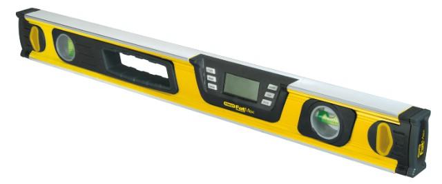 Уклономер StanleyУгломеры и уклономеры<br>Тип: угломер,<br>Тип угломера: электронный,<br>Длина (мм): 1200,<br>Источники питания: 6LR61<br>