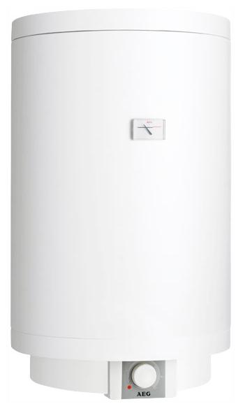 Водонагреватель AegВодонагреватели накопительные<br>Мощность: 2000,<br>Тип: вертикальный,<br>Бак: 150,<br>Температура: 35-75,<br>Макс. температура нагрева воды: 95,<br>Тип установки: настенный,<br>Размеры: 510x1400x520,<br>Высота: 1400,<br>Внутреннее покрытие бака: эмаль,<br>Макс. давление воды: 0.6 МПа,<br>Предохранительный клапан: есть,<br>Вес нетто: 46.2<br>