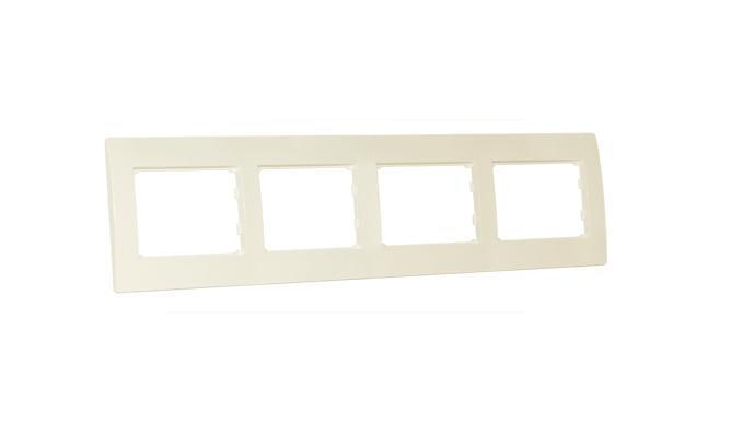 Рамка SvenЭлектроустановочные изделия<br>Тип изделия: рамка,<br>Способ монтажа: открытой установки,<br>Цвет: слоновая кость,<br>Напряжение: 220<br>