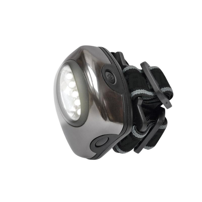 Фонарь налобный UnielФонари<br>Источники питания: AAA, Количество ламп: 5, Тип лампы: светодиодная, Тип: налобный, Продолжительность работы: 15<br>