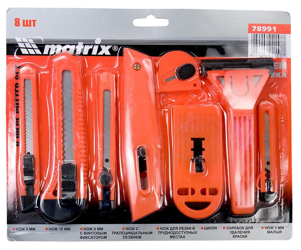 Нож MatrixНожи ручные<br>Тип: нож, Тип ножа: с сегментным лезвием<br>