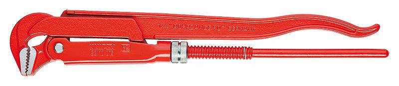 Ключ KnipexКлючи трубные<br>Тип трубного ключа: шведский, Наклон губок: 90, Форма губок: L, Макс. диаметр трубы: 2.1/2, Длина (мм): 560, Вес нетто: 2.3<br>