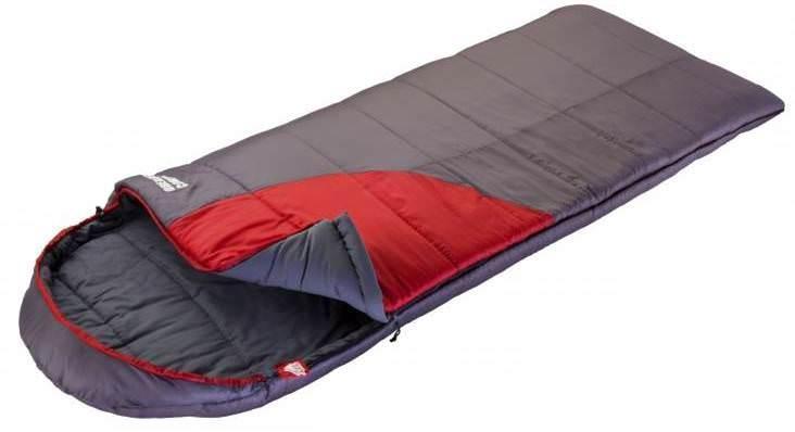 Спальный мешок Trek planetСпальные мешки<br>Тип спального мешка: одеяло,<br>Сезон: 3 сезона,<br>Максимальная комфортная температура: 5,<br>Минимальная комфортная температура: -7,<br>Экстремальная температура: -18,<br>Длина (мм): 2400,<br>Ширина: 900,<br>Материал: полиэстер,<br>Внутреннее покрытие: полиэстер, нейлон,<br>Материал наполнителя: холлофайбер,<br>Количество слоев наполнителя: 2,<br>Количество мест: 1,<br>Цвет: серый, красный,<br>Вес нетто: 2.65,<br>Страна происхождения: Китай<br>