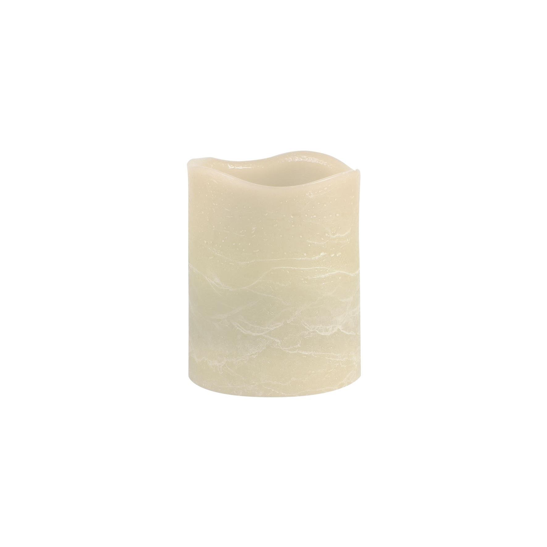 Свеча 100 мм белый, Светильник декоративный