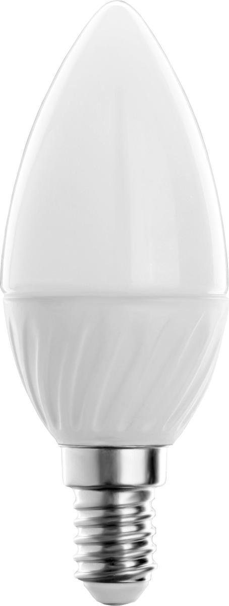Лампа светодиодная CamelionЛампы<br>Тип лампы: светодиодная,<br>Форма лампы: свеча,<br>Цвет колбы: белая,<br>Тип цоколя: Е14,<br>Напряжение: 220,<br>Мощность: 3,<br>Цветовая температура: 4500,<br>Цвет свечения: холодный<br>