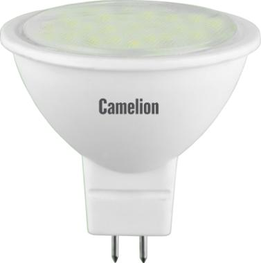 Лампа светодиодная CamelionЛампы<br>Тип лампы: светодиодная,<br>Форма лампы: рефлекторная,<br>Цвет колбы: белая,<br>Тип цоколя: GU5.3,<br>Напряжение: 220,<br>Мощность: 3,<br>Цветовая температура: 4500,<br>Цвет свечения: холодный<br>