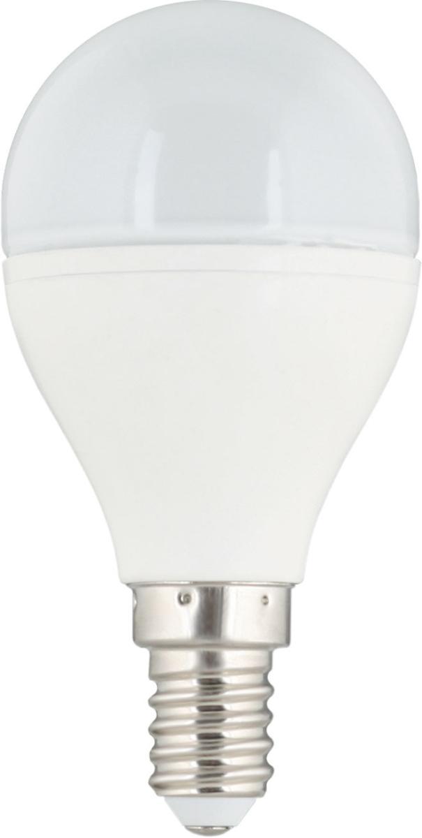 Лампа светодиодная CamelionЛампы<br>Тип лампы: светодиодная,<br>Форма лампы: шар,<br>Цвет колбы: белая,<br>Тип цоколя: Е14,<br>Напряжение: 220,<br>Мощность: 6,5,<br>Цветовая температура: 3000,<br>Цвет свечения: нейтральный<br>