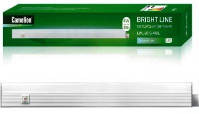 Светильник для производственных помещений CamelionСветильники офисные, промышленные<br>Назначение светильника: для производственных помещений,<br>Тип лампы: светодиодная,<br>Мощность: 14,<br>Количество ламп: 140,<br>Патрон: LED,<br>Степень защиты от пыли и влаги: IP 20,<br>Цвет: белый<br>