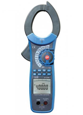 Клещи CemМультиметры (тестеры)<br>Тип: клещи токоизмерительные, Класс: проф., Дисплей: цифровой, Измерение напряжения (постоянного/переменного): есть, Измерение сопротивления: есть, Измерение постоянного тока: есть, Измерение переменного тока: есть, Измерение частоты: есть, Измерение емкости: есть, Источники питания: 6LR61<br>